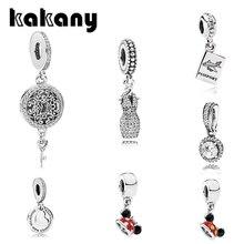KAKANY Standard haute qualité femmes classique breloque cristal brillant enfants rêve collier pendentif