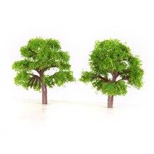 25x Z SKALA Modell Zug Bäume Straße Layout Garten Landschaft Wargame Diorama