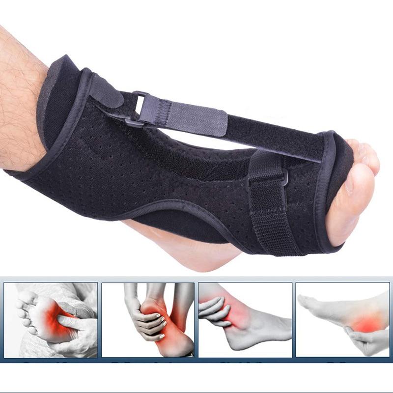 Adjustable Plantar Fasciitis Night Foot Splint Drop Orthotic Brace Elastic Dorsal Night Splint Foot Care Tool
