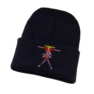 Anime High School D×d Knitted Hat Cosplay Hat Unisex Print Adult Casual Cotton Hat Teenagers Winter Knitted Cap