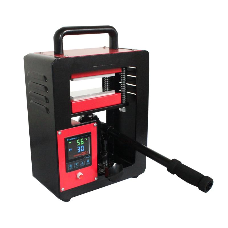 ماكينة ضغط حراري من القنب روزين مقاس 2.3 بوصة × 4.7 بوصة ماكينة طباعة حرارية مزدوجة من الصوانى روزين CE