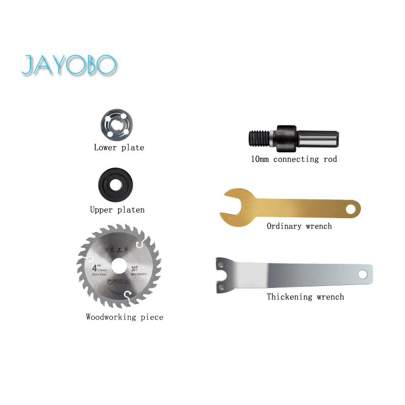 JAYOBO (Corte de madera)Para Conectar Conjunto De Varillas De Mano Taladro Eléctrico...