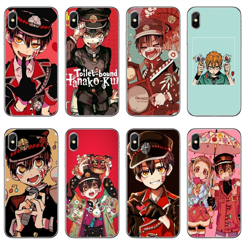 Capa de telefone de silicone para huawei mate 20 30 lite honra 20 10i 9x 10 lite 8s 8c 8x 7c 7x 7a pro 6a 6x anime wc-bound hanako-kun