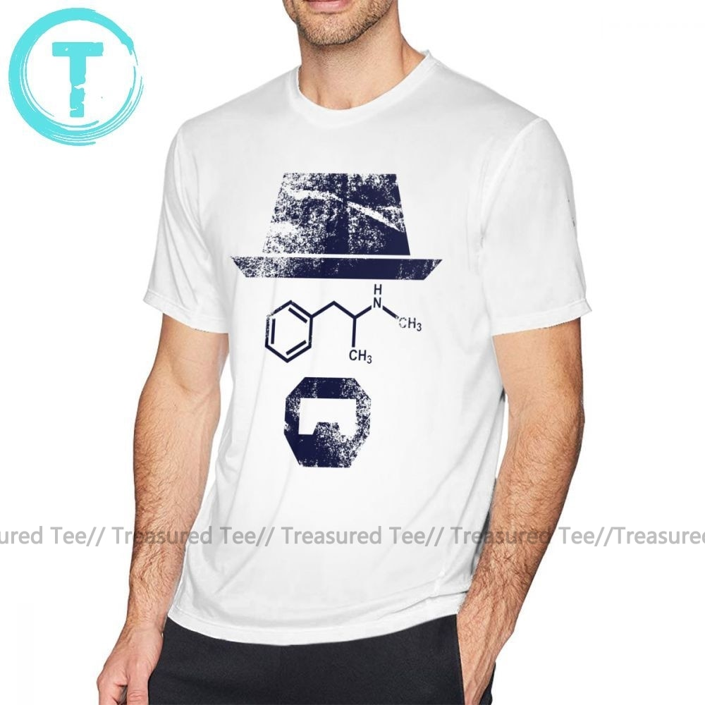 Camiseta química The Chemist - Breaking Bad, camiseta divertida de manga corta, camiseta gráfica para hombre XXX, Camiseta de algodón a la moda