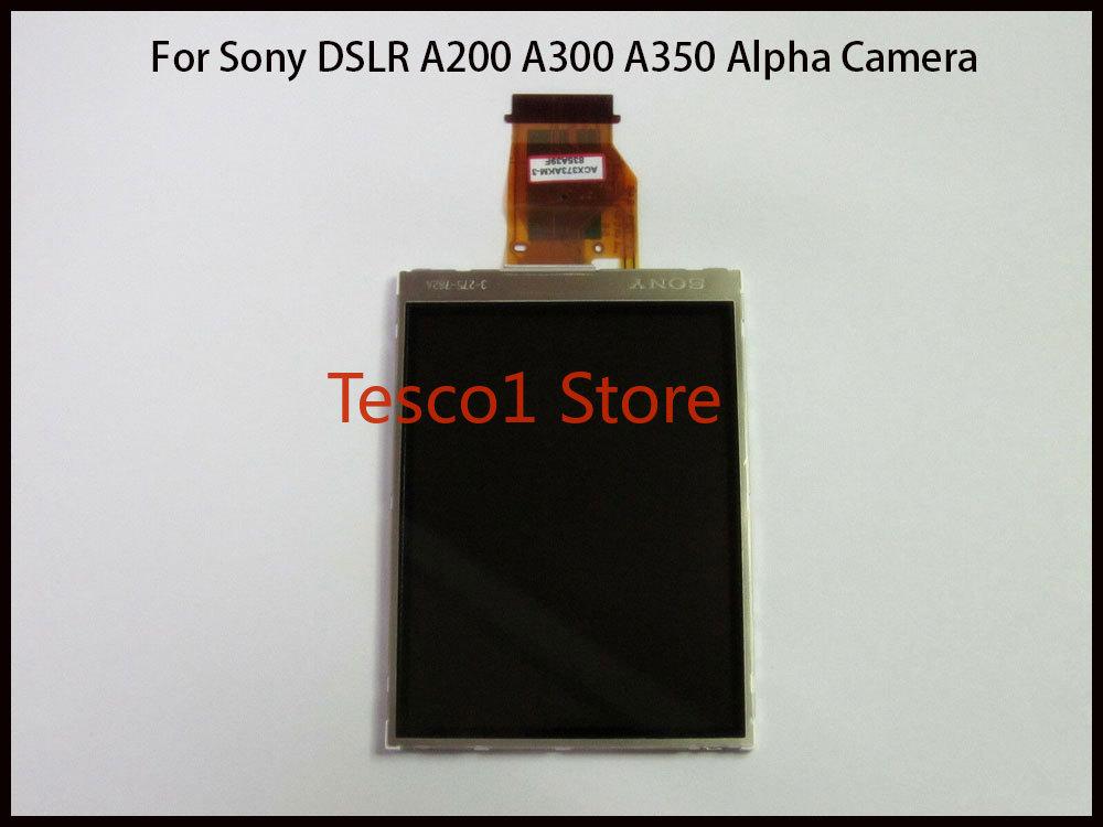 Новый ЖК-дисплей с задней частью для Sony DSLR A200 A300 A350 Alpha запасные части для камеры (версия Sony)