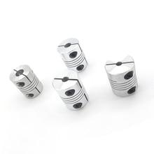 4PCS 5X8MM D25L30 Aluminum 5mm to 8mm Z Axis Flexible Coupling For Stepper Motor Coupler Shaft Couplings 3D Printer Parts