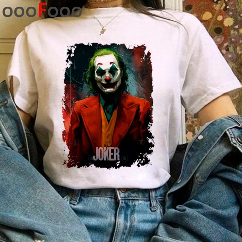 Joker Joaquin Phoenix Harajuku T Hemd Frauen Horror T-shirt Sind Sie Geruch Rechts Jetzt Lustige Cartoon T-shirt Fanshion Top T weibliche