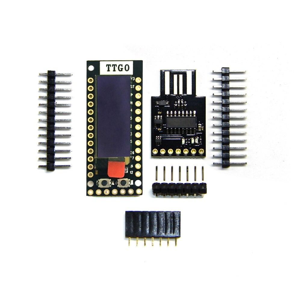 LILYGO®TTGO TQ ESP32 0,91 OLED PICO-D4 WIFI y Bluetooth mucho placa prototipo