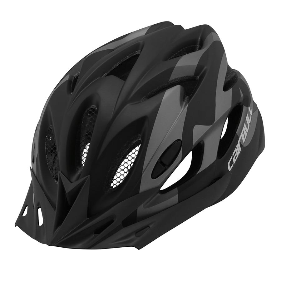 Casco de bicicleta CAIRBULL Powermeter Mtb mountain road bike transpirable extraíble 18H 6 colores de una sola pieza