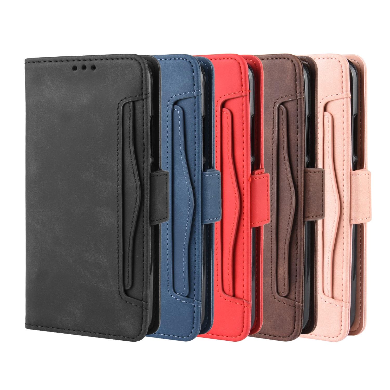 Para LG K40S Funda de cuero de 6,1 pulgadas Cartera de cuero Flip Multi-card slot cubierta para LG K40S K40 2019 LGK40S funda