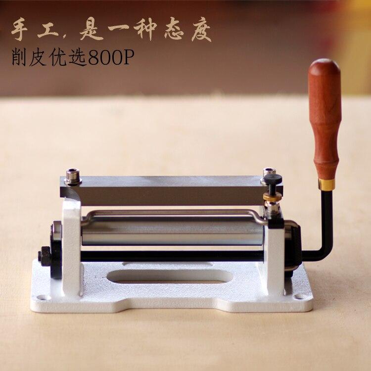800P máquina de peeling máquina pá pá de couro cinto de couro fino de couro rattan fina Pulseira de Couro Curtido máquina