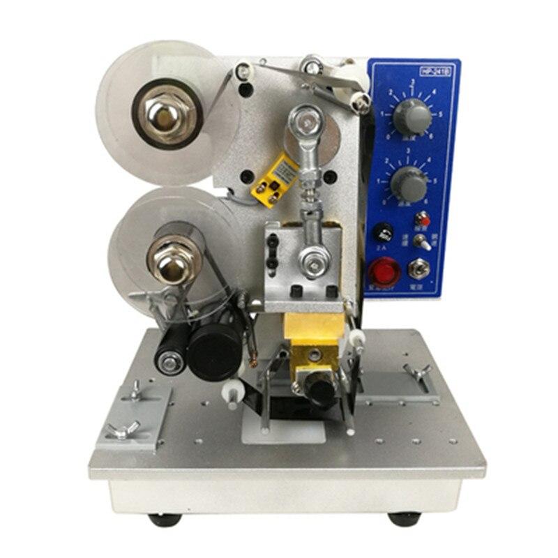 HP-241B электрическая автоматическая лента код печатная машина даты производства цифровых чернил имитация струйная печатная машина