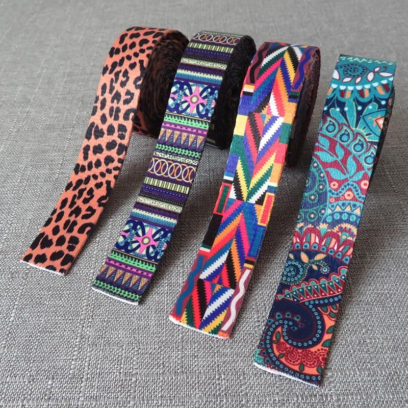 1 Yard Width 1 Inch 25mm Webbing Ribbon Luggage Yoga Belt Strap Dog Pet Collar Leash Rope Harness Ba