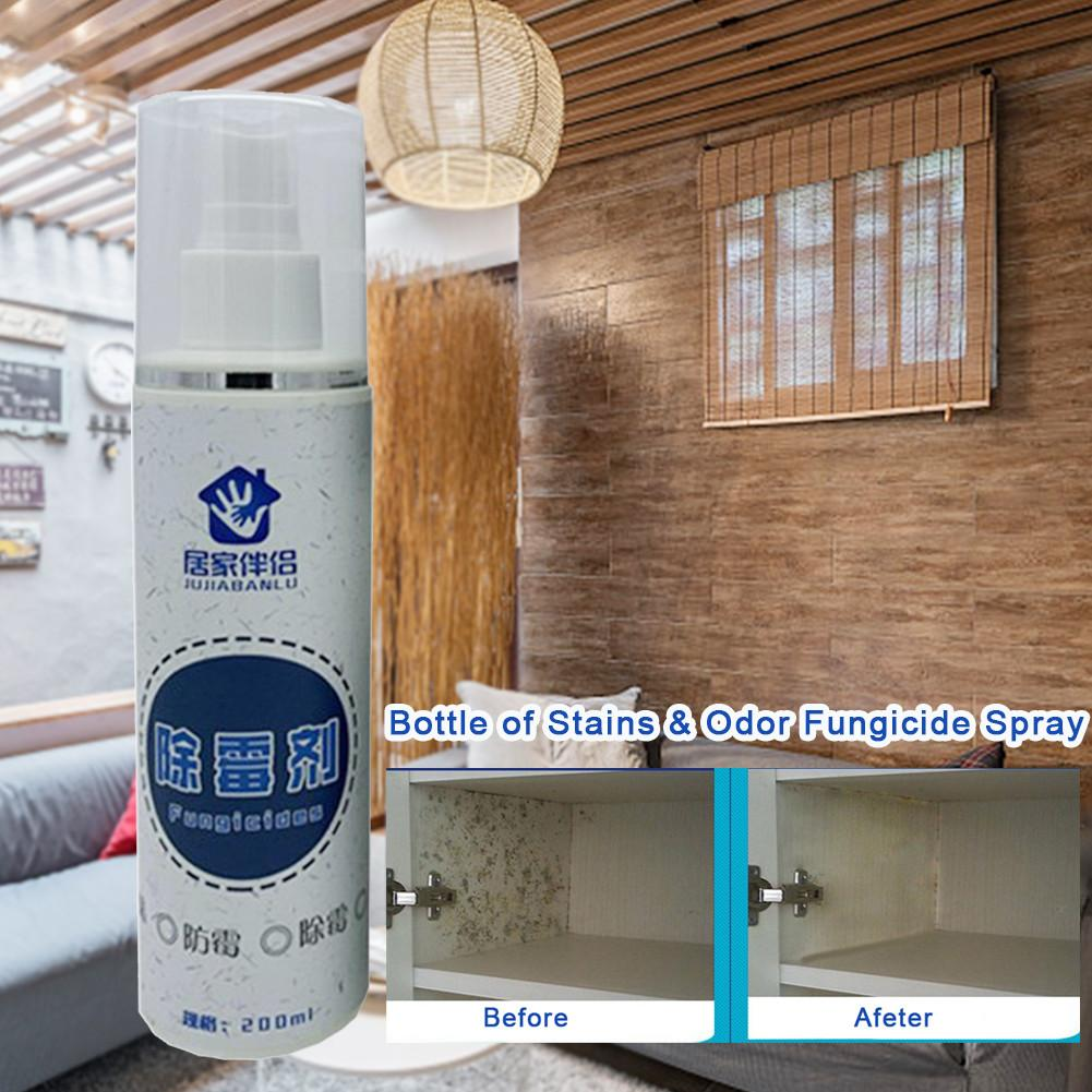 Eliminador de manchas Spray moho Limpieza de bacterias fungicida de olores para la cocina en casa