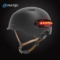 2 in1 Bicycle Lamp Cycling Smart Tail Light Bike Adult Helmet Bike Kid Helmet MTB Road Scooter For Xiaomi Sport Urban Helmet