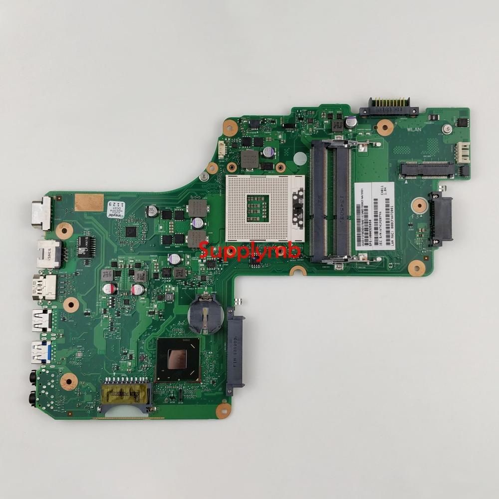 V000325050 SLJ8E 6050A2566201-MB-A02 for Toshiba Satellite C50 C55 C55T Series NoteBook PC Laptop Motherboard Mainboard Tested v000245020 6050a2338501 mb a02 hm55 for toshiba satellite l630 laptop notebook motherboard mainboard tested