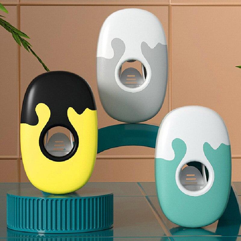 Dispensador de pasta de dientes automático, colgador de pared no tóxico, a...