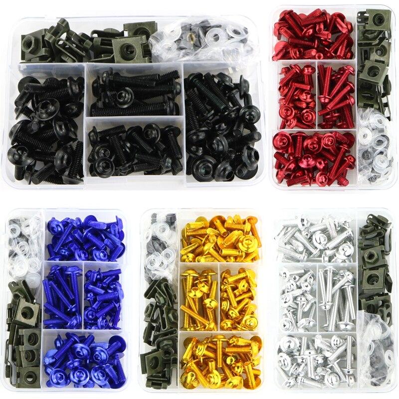 Motocicleta accesorios CNC carenado Kit de tornillos y pernos para Honda CBR250RR CBR400R CBR500R CBR650F cbr900rr 893 919, 929 de 954 CBR1100XX