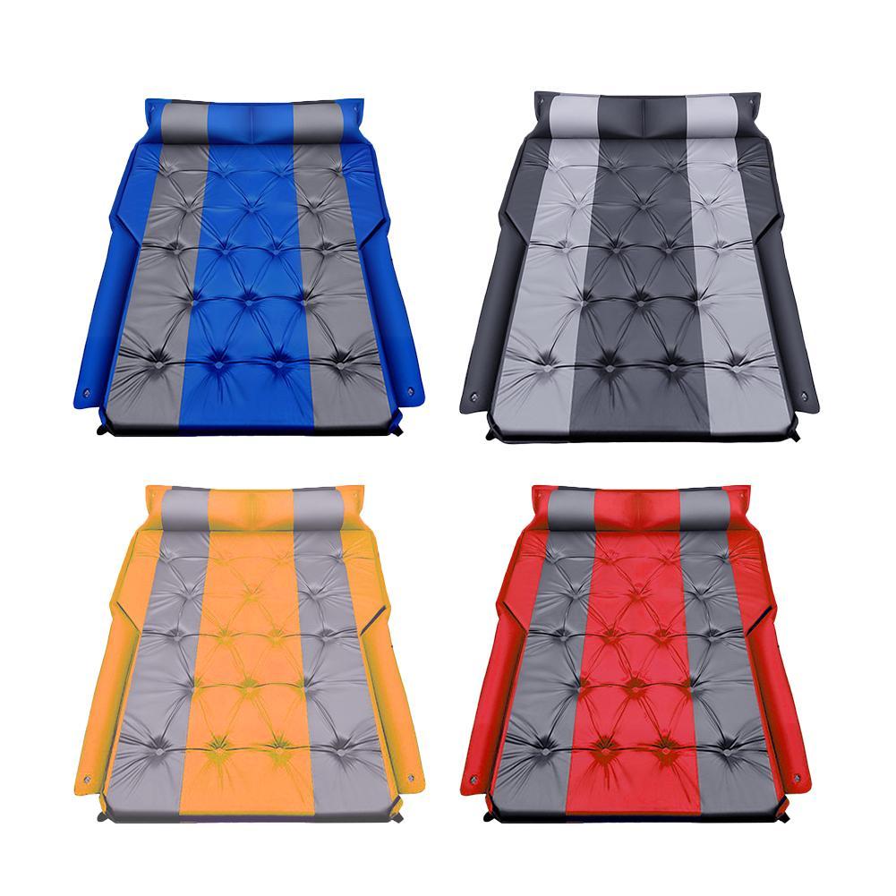 Coche cama colchón de aire Suv asiento trasero inflable viaje portátil Camping colchón dormir cama para viajes todoterreno Universal SUV