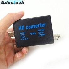 Convertisseur de signal vidéo haute définition 4 en 1 HD convertit le signal AHD/TVI/CVI/CVBS en HDMI/VGA/CVBS courant de travail 150mAh