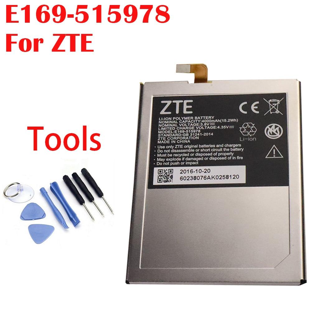 100% Original 4000mAh E169-515978 515978 para ZTE Q519T Blade X3 Blade D2 Blade A452 T620 batería de T-620 + número de seguimiento
