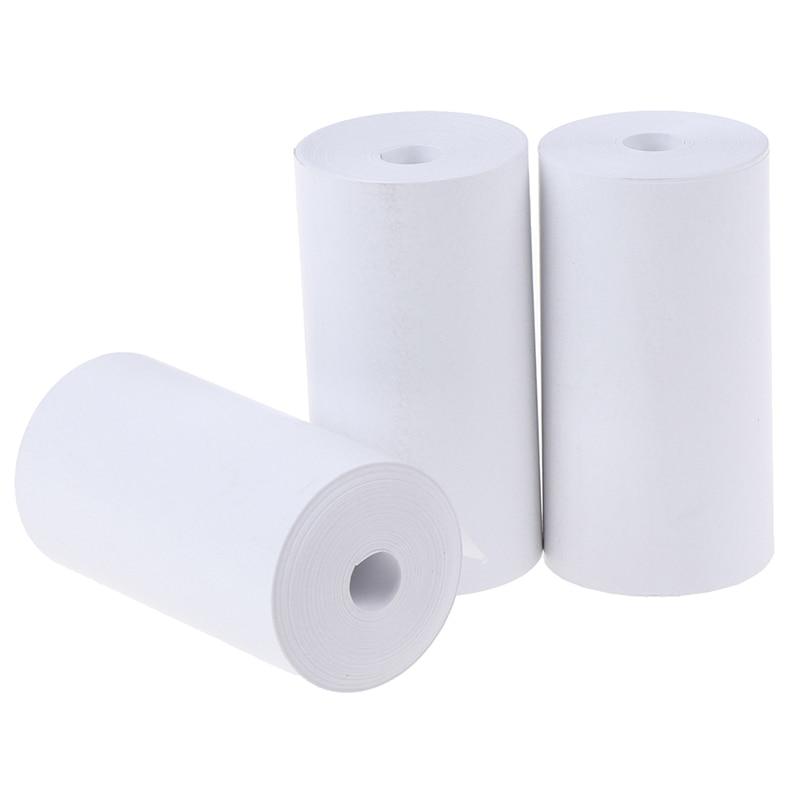 1 rollo de papel con impresión térmica 57x30mm gran foto impresora POS máquinas