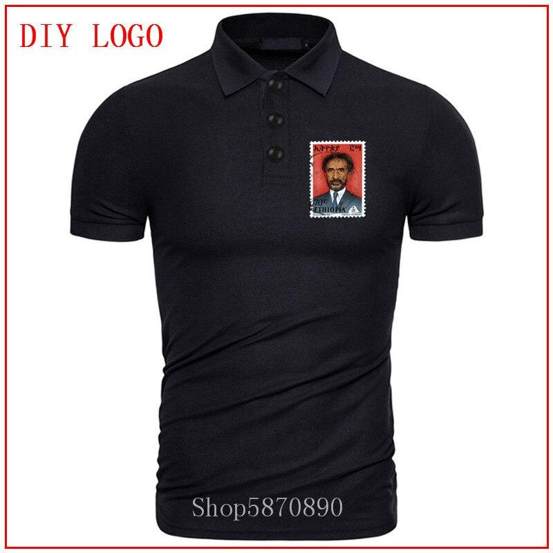 2020 горячая Распродажа Haile Selassie King of Kings Jah Rastafari рубашка поло мужская персонализированная футболка с короткими рукавами