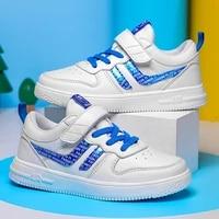 winstale elastic velcro sneakers kids flat air foam mesh collar shoes for children one strap webbing loop boy child sneakers