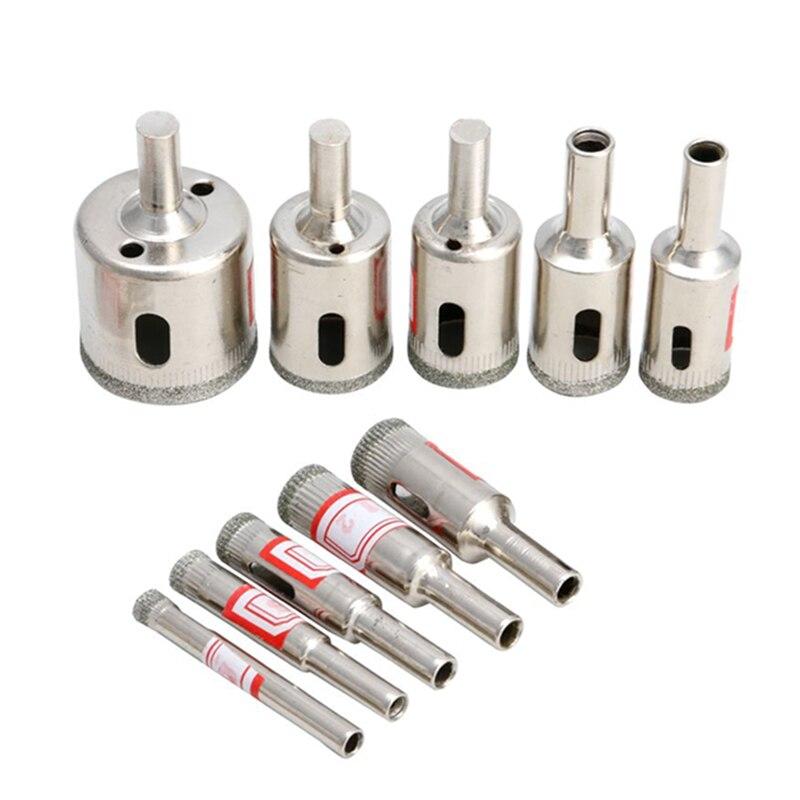 Nuevo 10 piezas 6mm-32mm herramienta de diamante broca Sierra de perforación para mármol de cerámica de vidrio SA907 t.11