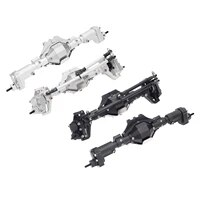 metal aluminum front rear axle shaft assembly for scx10 ii 90046 90047 110 rc crawler off road car accessories spare parts