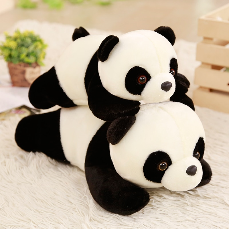1pc 30cm euke papa panda pop zacht pluche speelgoed cadeau para jardim de infância