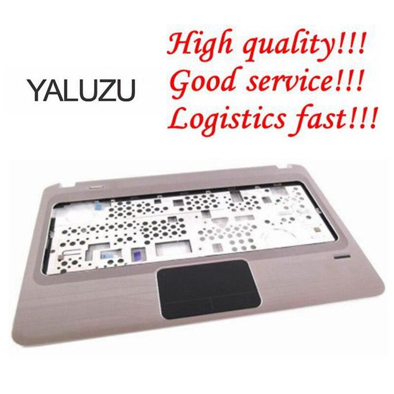 YALUZU nueva cubierta superior de pantalla LCD de ordenador portátil para HP DM4-1000 reposamanos teclado cubierta de bisel carcasa superior montaje Touc hp ad & Fingerprint C Shell