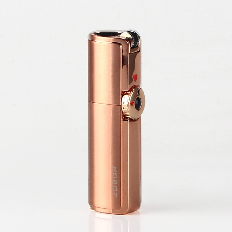 Three Straight Cigar Moxa Stick Straight Gas Lighter with Cigar Hole Mini Torch Smoking Accessories Gadgets for Men Encendedores