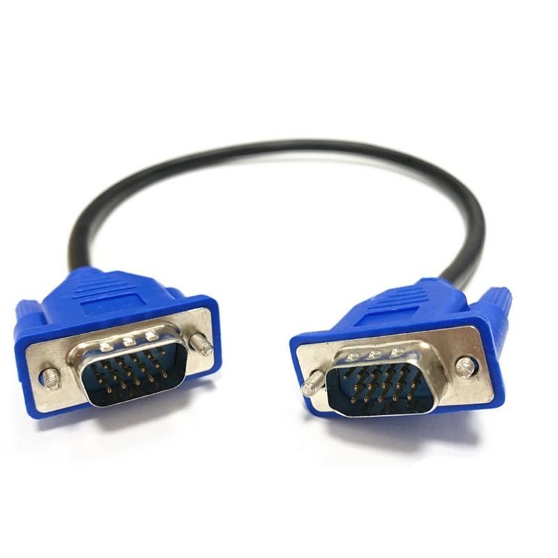 Cable VGA macho a maltrenzado, blindaje de gran calidad, HDTV VGA, cable...