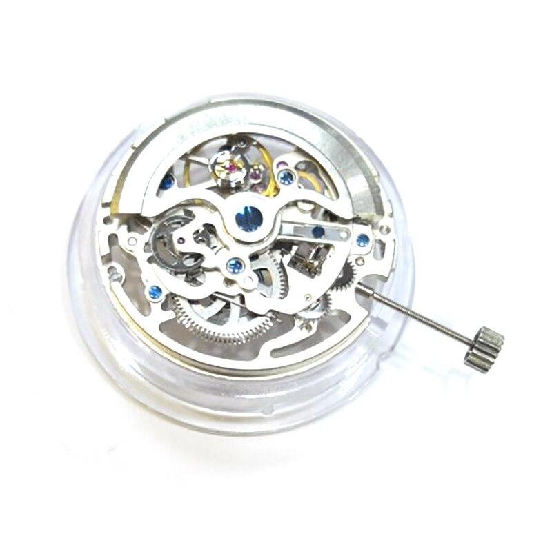 Peças de Reposição Ocas do Movimento do Relógio de Esqueleto para Ty2809 Automáticas Mecânicas