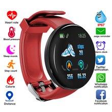 Montre intelligente 116 Plus Sport Bluetooth montre de fréquence cardiaque D18 bracelet intelligent D18 Sport horloge D13 bracelet intelligent hommes femmes relogio 115