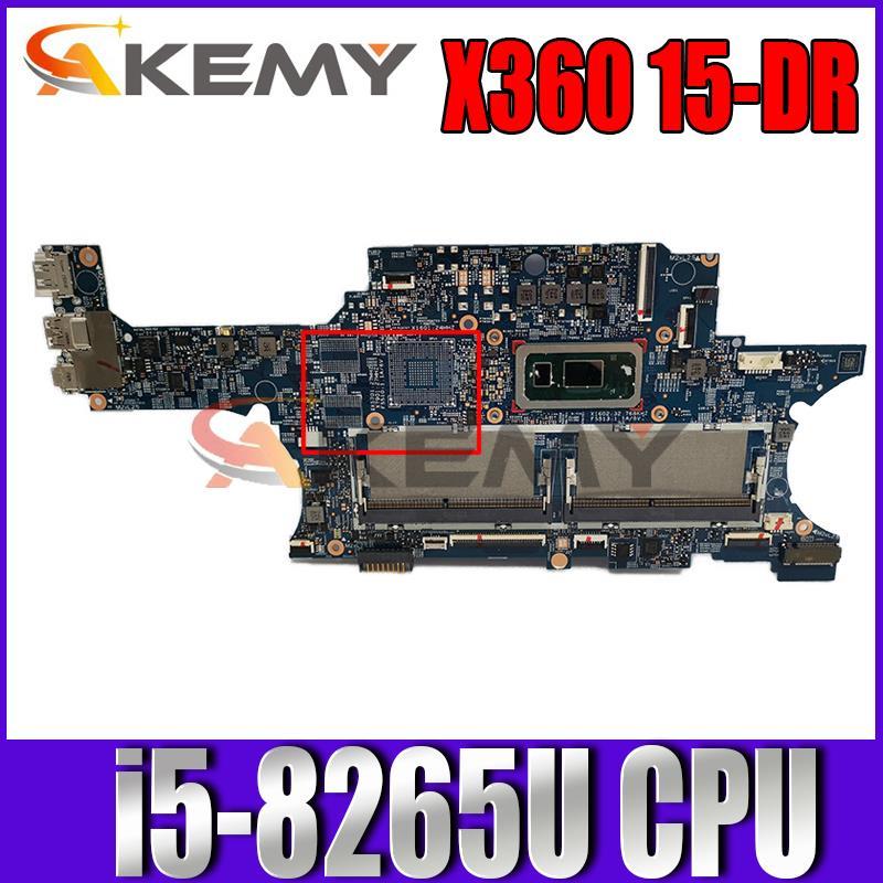 Akemy L53569-601 18748-1 اللوحة الأم الأصلية SREJQ i5-8265U وحدة المعالجة المركزية جنرال موتورز ل HP ENVY X360 15-DR 15T-DR اللوحة الأم للكمبيوتر المحمول