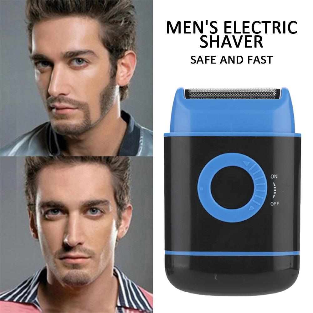 Máquina de cortar cabelo elétrico aparador de barba mini aparador de cabelo máquina de corte barba barbeiro navalha para ferramentas estilo recém design