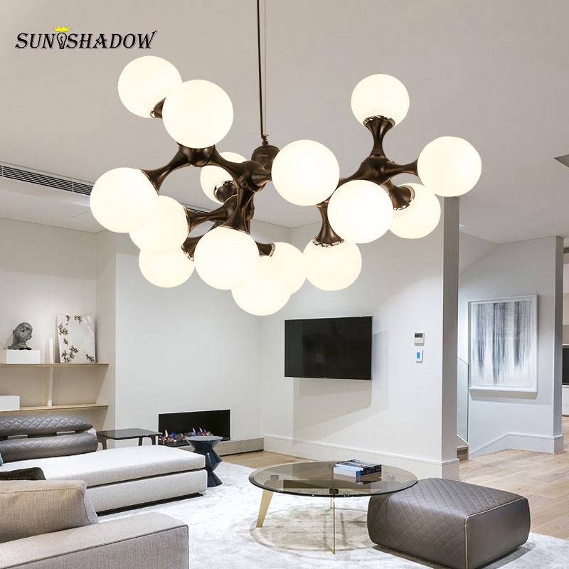 Nordic Led Pendant Light Modern Art Deco Pendant Lamp For Liviing Room Bedroom Dining Room Kitchen Chandelier Indoor Luminaires