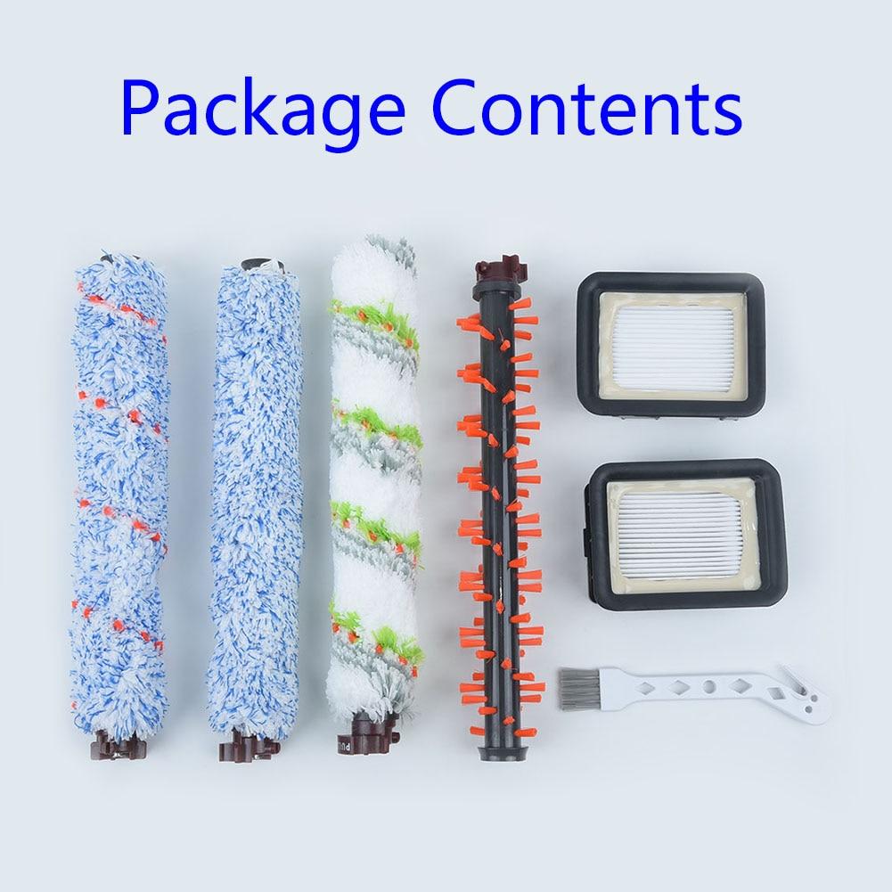 Floor Brush Roller Brush Kit Vacuum Filter Brush For Bissell CrossWave 1785 2306 2551 23068 Series Equipment Parts Home Cleaning