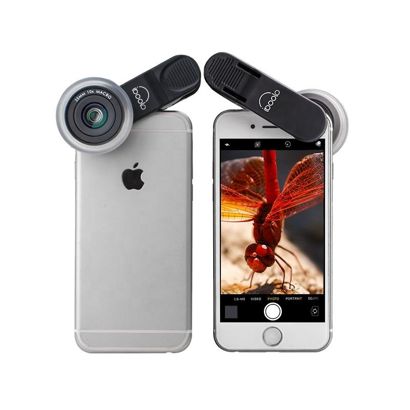 smartphone webcam Broadband anti-reflection 25mm macro lens 10X mobile phone camera lens