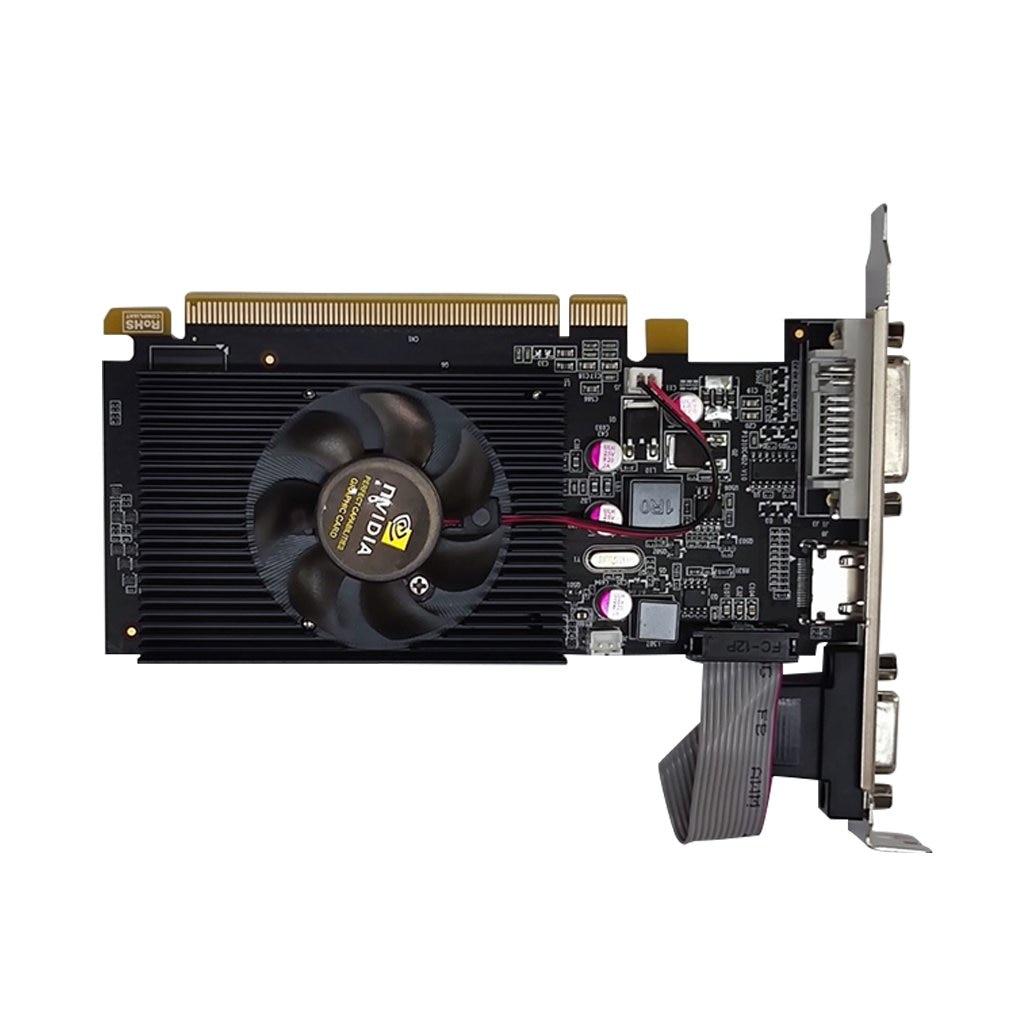 GT210 1GB 64Bit بطاقة الفيديو NVIDIA GT210 512M DDR2 بطاقات الرسومات GPU حاسوب شخصي مكتبي شاشة الكمبيوتر خريطة ATX MATX HTPC VGA