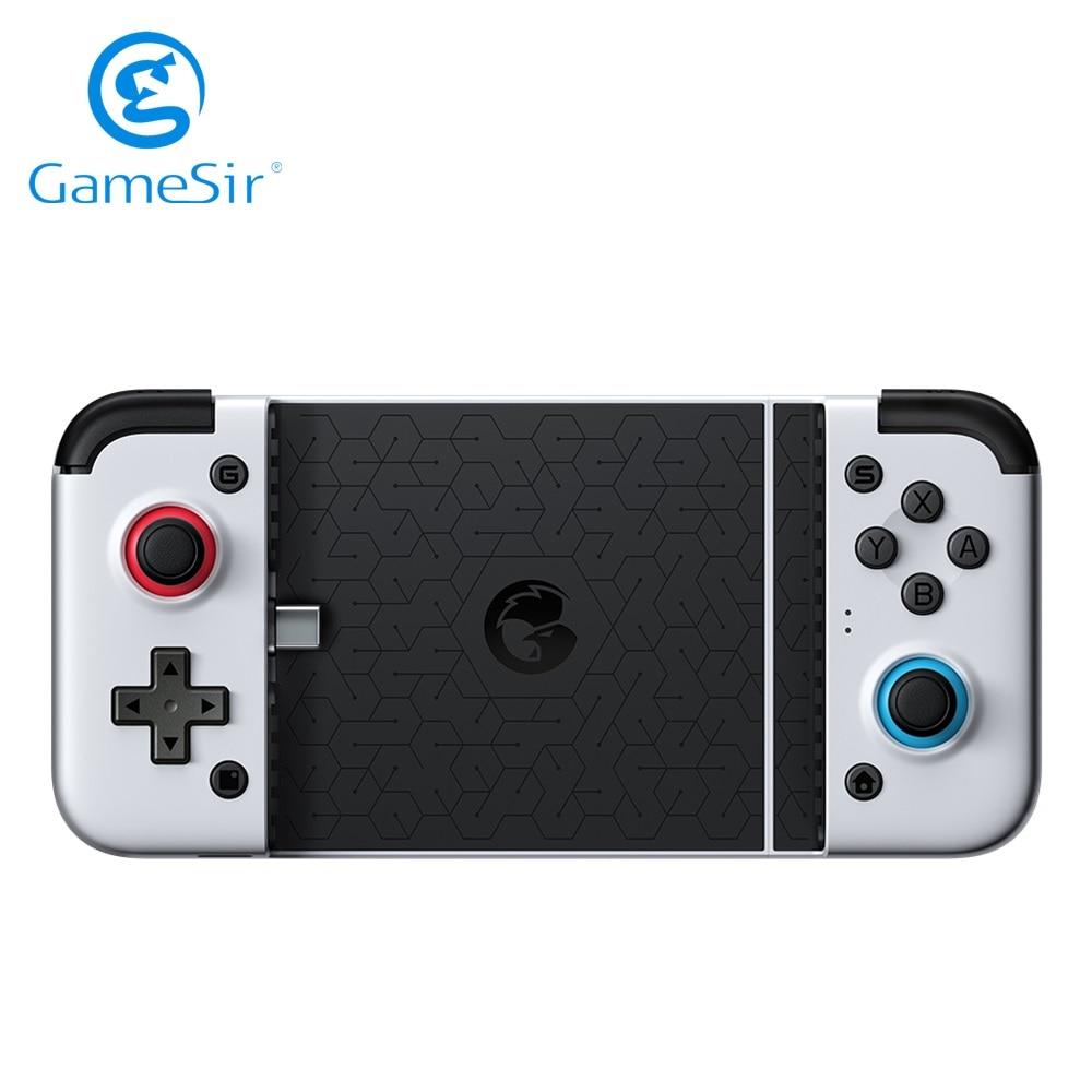 GameSir X2 New Version Type-C Gamepad Pubg Mobile Game Controller Joystick Android Gamepad Telescopic Handle No Delay Cloud Game