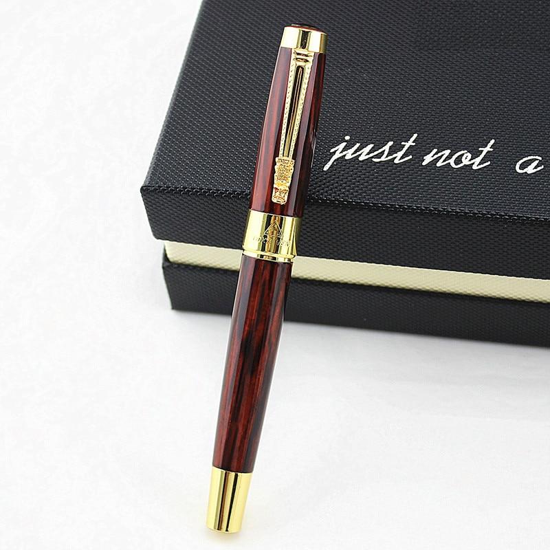 Высококачественная Роскошная шариковая ручка с драконом, винтажная черная чернильная ручка 0,5 мм для письма, Подарочные шариковые ручки