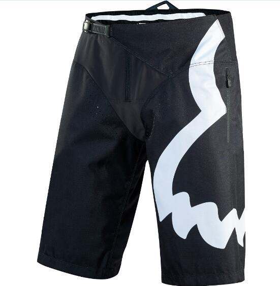 Delicado raposa rua moto mx defender adulto curto da motocicleta mtb shorts calças de verão dos homens