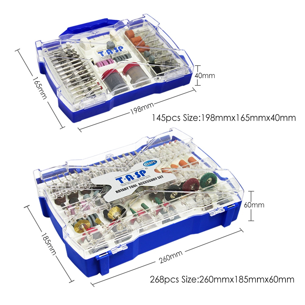 268db elektromos mini fúrófej készlet csiszoló rotációs - Csiszolószerszámok - Fénykép 4