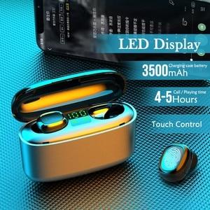 G5S TWS Bluetooth-compatible Earphones Wireless Business Headset Mini Earpieces Waterproof Sports Earbuds For Xiaomi Iphone