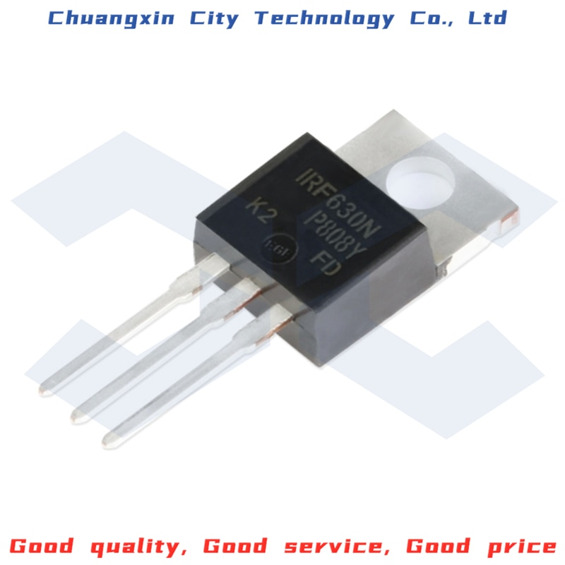 10PCS 100% New&Original IRF630NPBF TO-220 N channel 200V/9.2A MOSFET Integrated circuit chip IC 10pcs mk484 484 to92 new measurement circuit ic am radio receiver