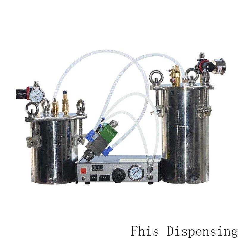 موزع أوتوماتيكي وخزان ضغط من الفولاذ المقاوم للصدأ ، صمام ضغط سائل قابل للتعديل بدقة