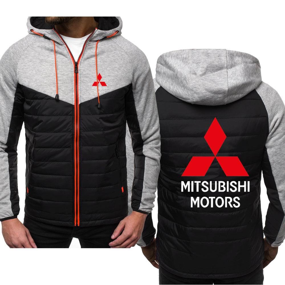 New Hoodies Man Mitsubishi Motors Spring Autumn Sweatshirt Casual Fashion Hoody Zipper Jacket Male Tops Clothing